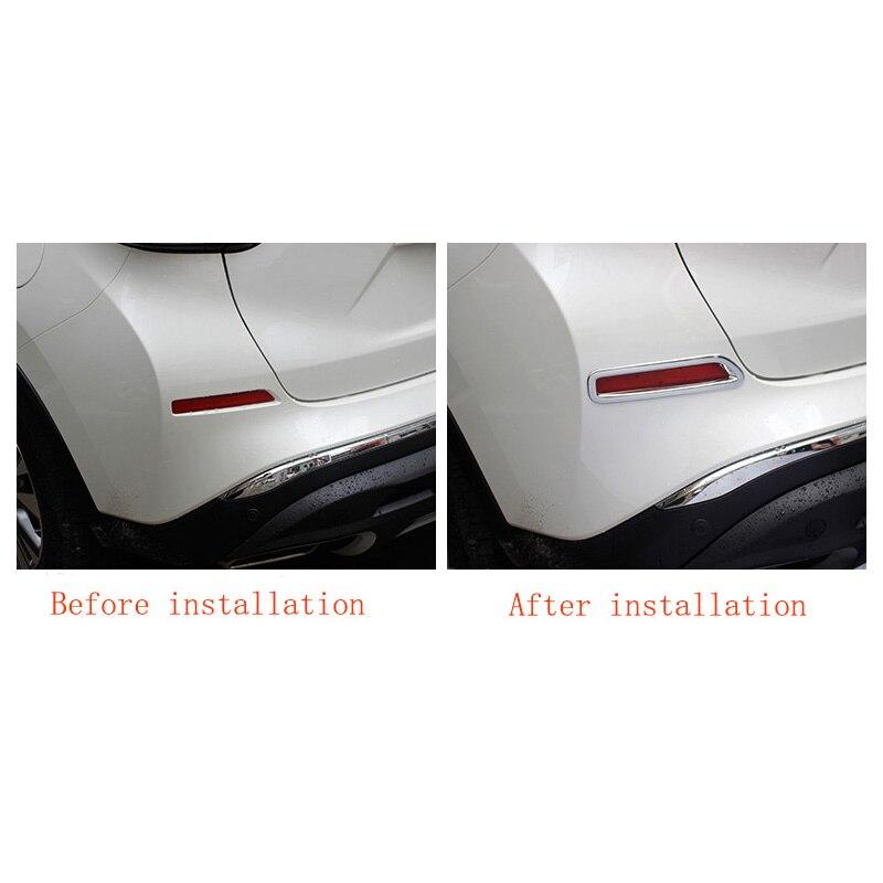 Araba-styling ABS krom ön arka sis lambaları Nissan Murano Z52 2015 - Araba Parçaları - Fotoğraf 6