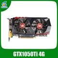 Видеокарта Veineda GTX1050Ti 4 GB 128Bit 1290/7000 MHz графическая карта для nVIDIA Geforce <font><b>Games</b></font>