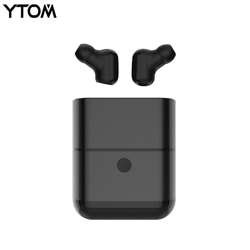 YTOM Pro Bluetooth 5.0 Headphones Hifi Earphone with Mic wireless headset with Charger Box Earbuds for xiaomi iphone huawei fiio dynamic drives music earbuds with mic em3s for mobile huawei xiaomi iphone mp3 mp4