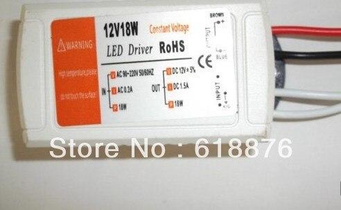 5 шт. DC 12 В 1.5A светодио дный свет трансформатор светодио дный постоянное напряжение адаптер питания 18 Вт светодио дный полосой 5050 12 В подсветкой Транс