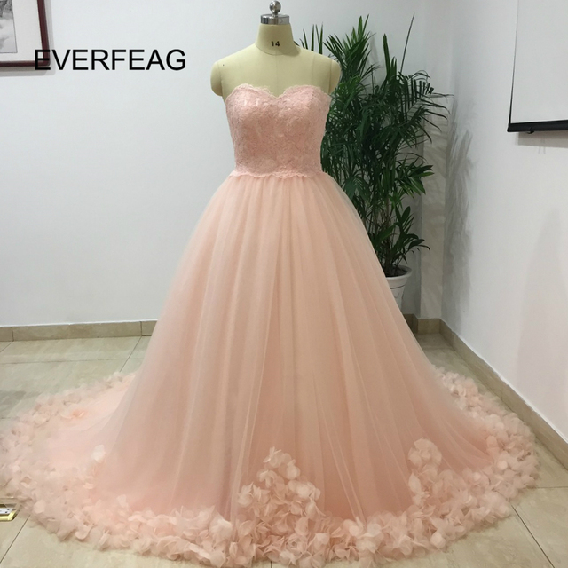 808844eca35f Princess Long Ball Gown Pink Quinceanera Dresses With Applique Lace 2018  Sweet 16 Cheap Tulle Prom Birthday vestidos de 15 anos