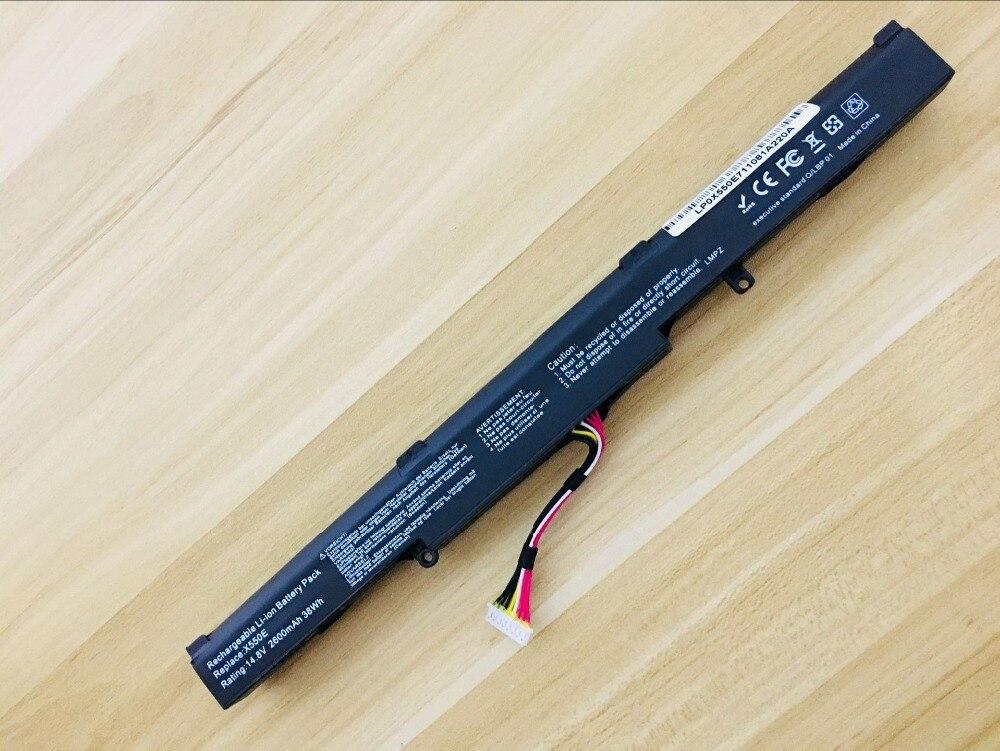 2600MAH New battery for ASUS A450 F750 F751 K751 N552 N752 R751 R752 X450 X451 X750 X751 R510DP Pro P750LB samsung rs 552 nruasl