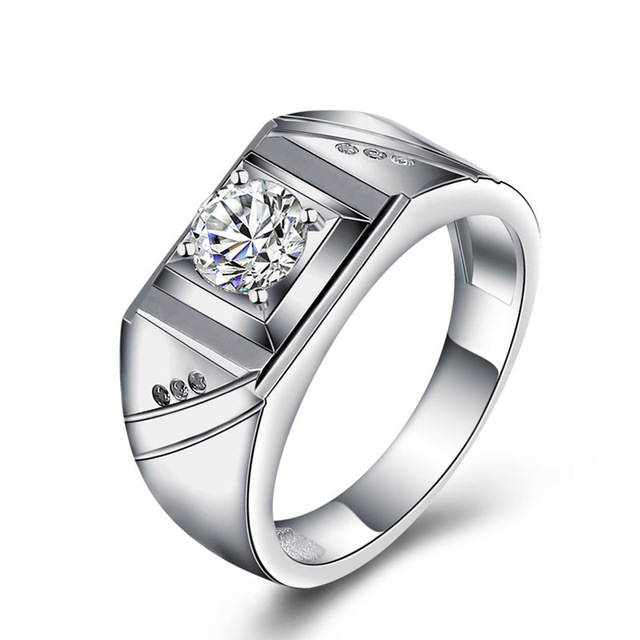 Aliexpress.com : Buy 925 Sterling Silver rings Cubic ...
