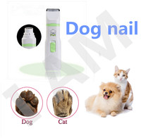 Animal Dog Cat Nail Electric Clippers Claw Scissors Pet Toe Care Nail Grooming Trimmer Clipper Products