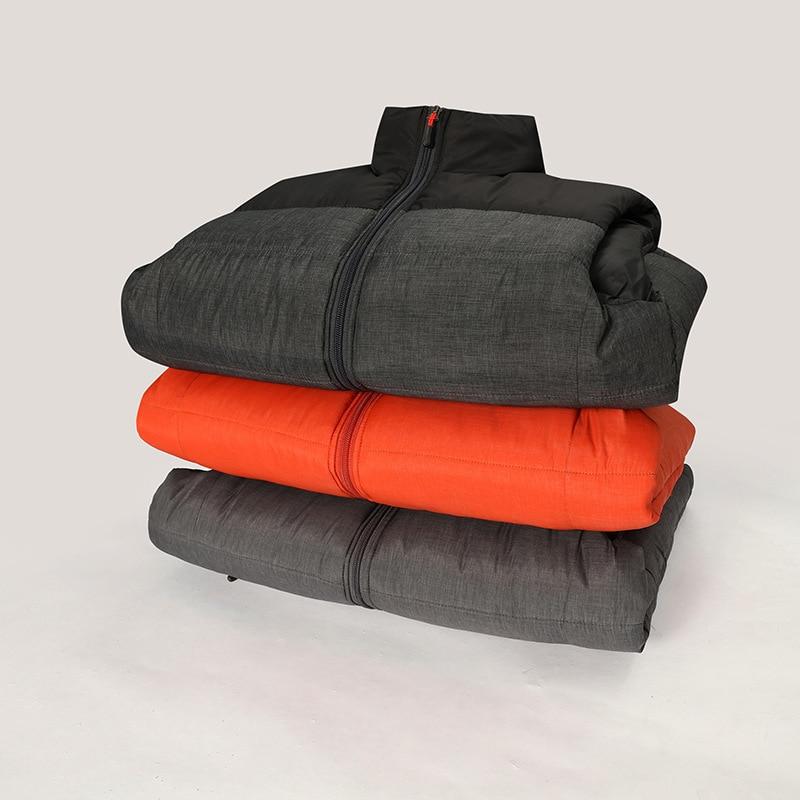 FALIZA новые мужские зимняя куртка без рукавов и пальто мужские без рукавов теплый жилет homme Зимние Повседневные Пальто 4XL MJ-M