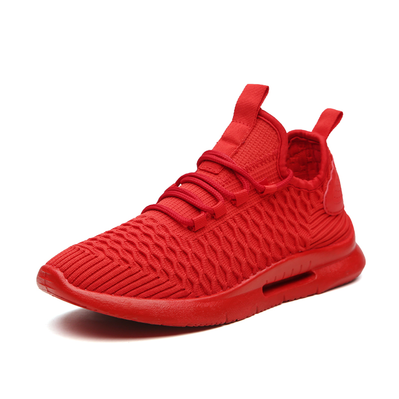 Sneakers Men Trainers Tenis Tennis-Shoes Athletic Fitness Luxury Masculino Male Red Summer
