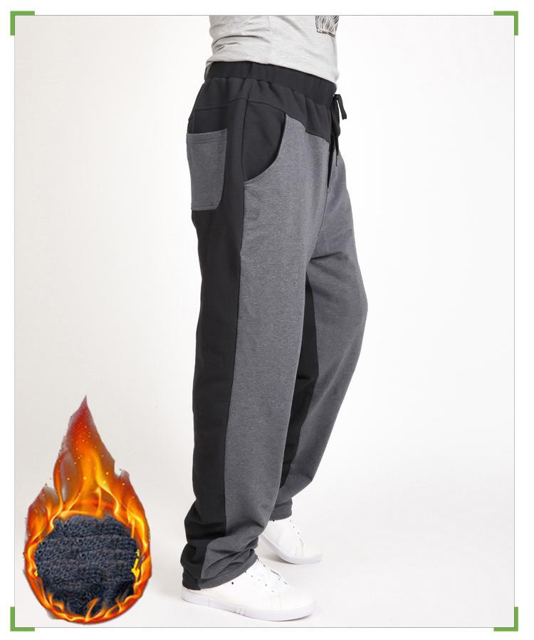 Warm winter pants men Joggers pants Hip Hop pants men clothes 18 Streetwear men's trousers large size XXXL 4XL 5XL 6XL 7XL 8XL 12