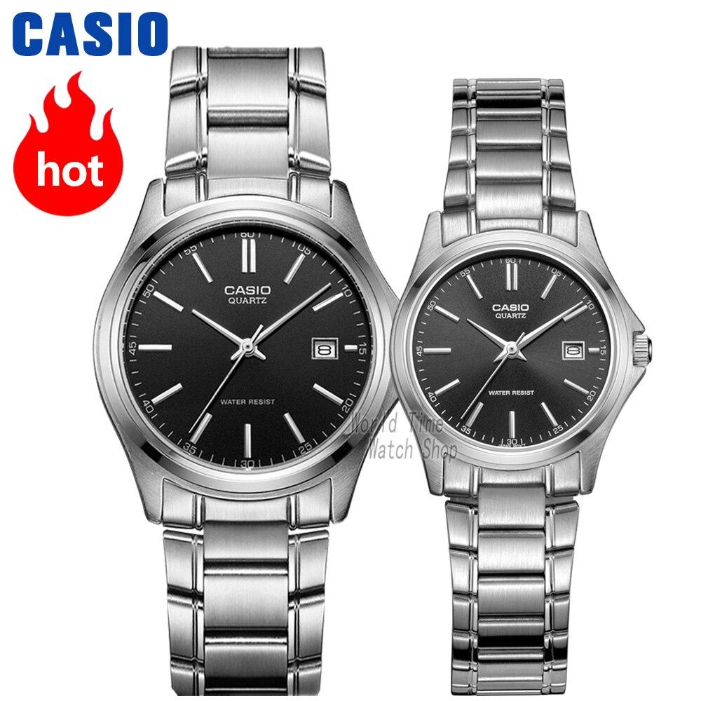 Casio Watch 2017 Men Women Watches Couple Lovers Top Brand Luxury Ltp 1378l 2e Quartz Blue Analogue Mens And Womens Pointer Waterproof Mtp 1183