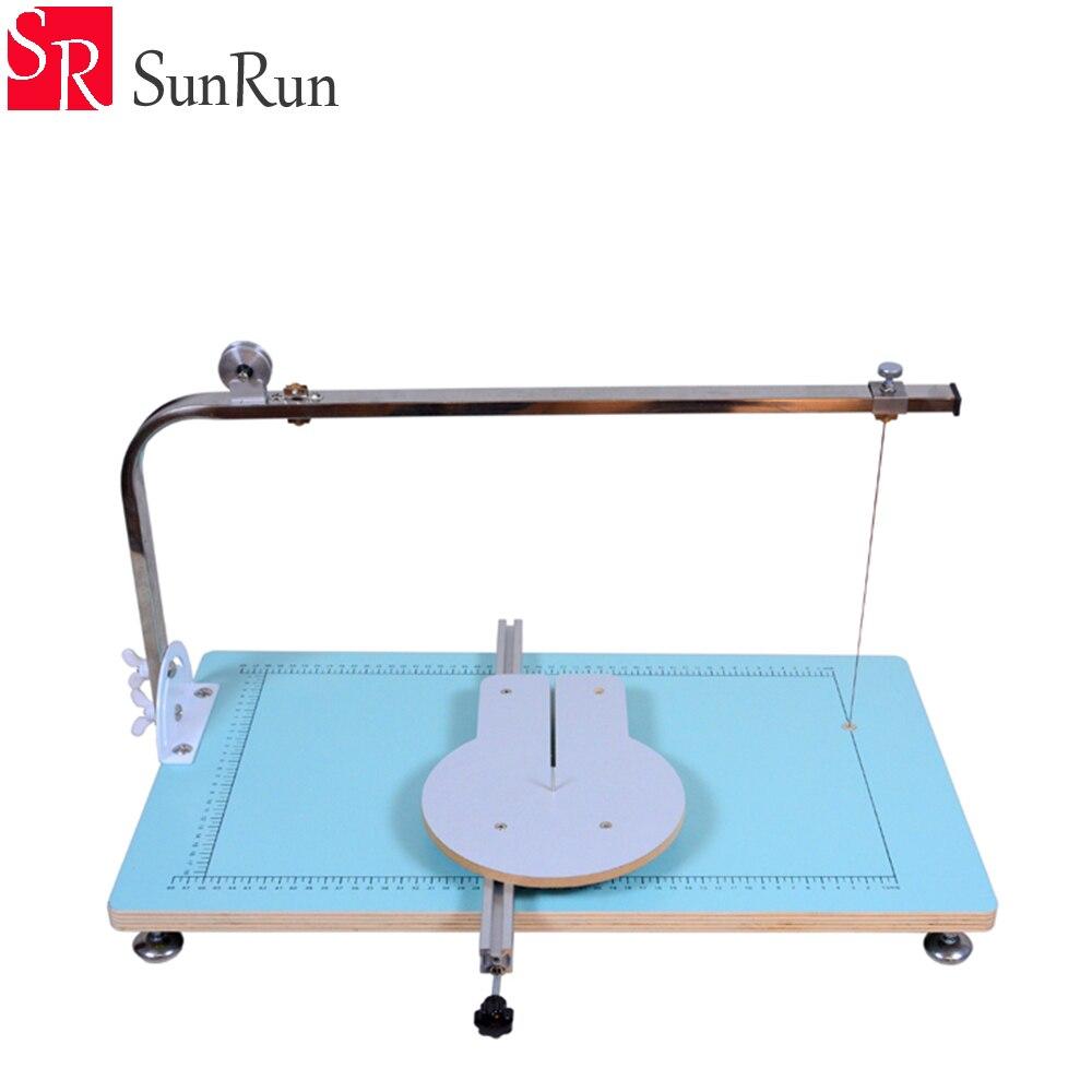 36W Home foam cutting machine S603 cutting tool heating wire for sponge pearl cotton KT plate полотенцесушитель водяной energy prestige 600×400