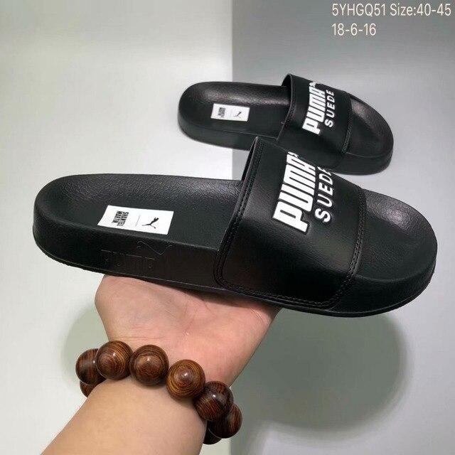228ff8d84eef3 Puma leadcat YLM PUMA zapatilla sandalias PUMA correa azul negro blanco  sandalias para hombres y mujeres