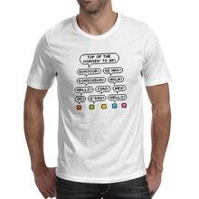 Pixel Man Say Hello T Shirt Pop Punk Skate Video Game T-shirt Style Cool Design Unisex Tee say hello
