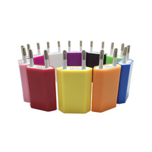 for IPhone 5/6/7/8 charger fire cow mobile phone USB1A color charging head