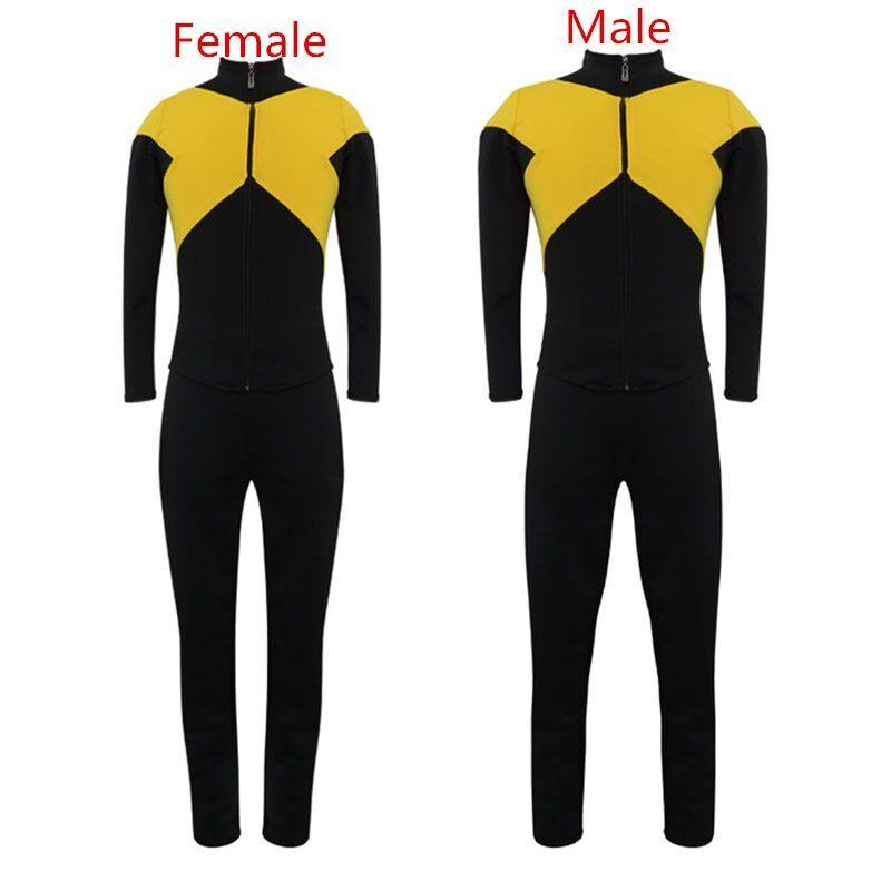 2019 x-men: foncé Phoenix Jean gris Cosplay Costume ensemble complet veste uniforme Costume pour adulte hommes femmes Halloween carnaval Costumes