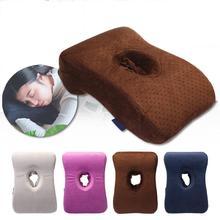 Multifunctional Memory Foam Sleeping Cushion Office Table School Desk Nap Head Neck Pillow Slow Rebound Headrest  Sleep