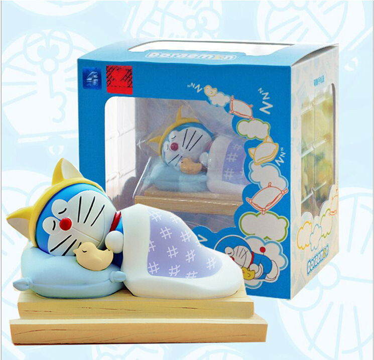 Sleeping Doraemon Action Figures So Cute Doraemon Toys for Putting Notes Stickers as Children Gift B719