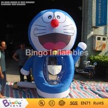 Акция!! надувные Doraemon Банкомат Надувные Деньги Ловить игры с бесплатным воздуходувки Бесплатно Купленных надувные игры