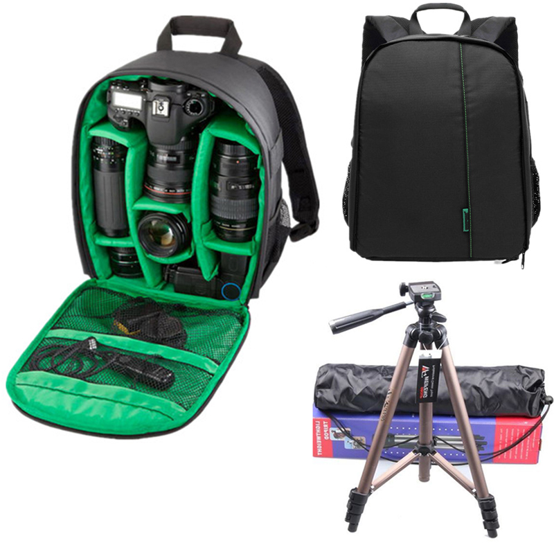 03fb4e14f7 Small DSLR Camera Bag Backpacks for Photographer Coloful Waterproof  Multi-functional