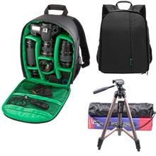 Лучшее качество Coloful Водонепроницаемый многофункциональный Цифровой DSLR Камеры Видео-Мешок Малый DSLR Камеры Мешок Рюкзаки для Фотографа