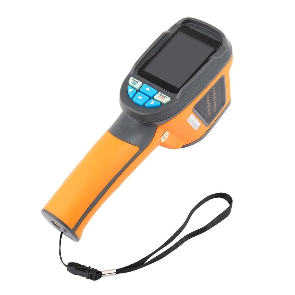 HT-02D Handheld Infrared Thermometer Imaging Camera Precision Thermal Imager Thermometer 2.4 Inch High Resolution Screen 1024px