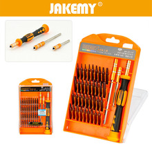 цена на JAKEMY 39 in 1 Multifunctional Precision Screwdriver Set For IPhone Laptop Digital Repair Screwdriver Bits Repair Tools Kit Set