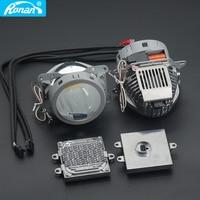 RONAN Upgrade Super Quality 2 Pcs 35W 3200LM 5500k 3.0 Inch LED Bi Projector Lens