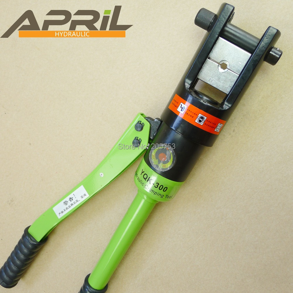 hydraulic crimping tool apriltool yqk 300 in hydraulic tools from home improvement on aliexpress. Black Bedroom Furniture Sets. Home Design Ideas