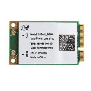 Link Wlan-Card WIFI Mini pci-E Intel 5100 Wireless New for 512an mmw-300m