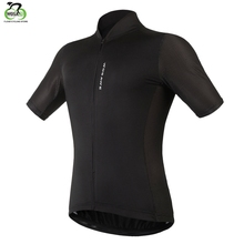 WOSAWE New Mens Cycling Jersey Comfortable Bike/Bicycle Shirt Black White Quick-dry SportsWear Clothing