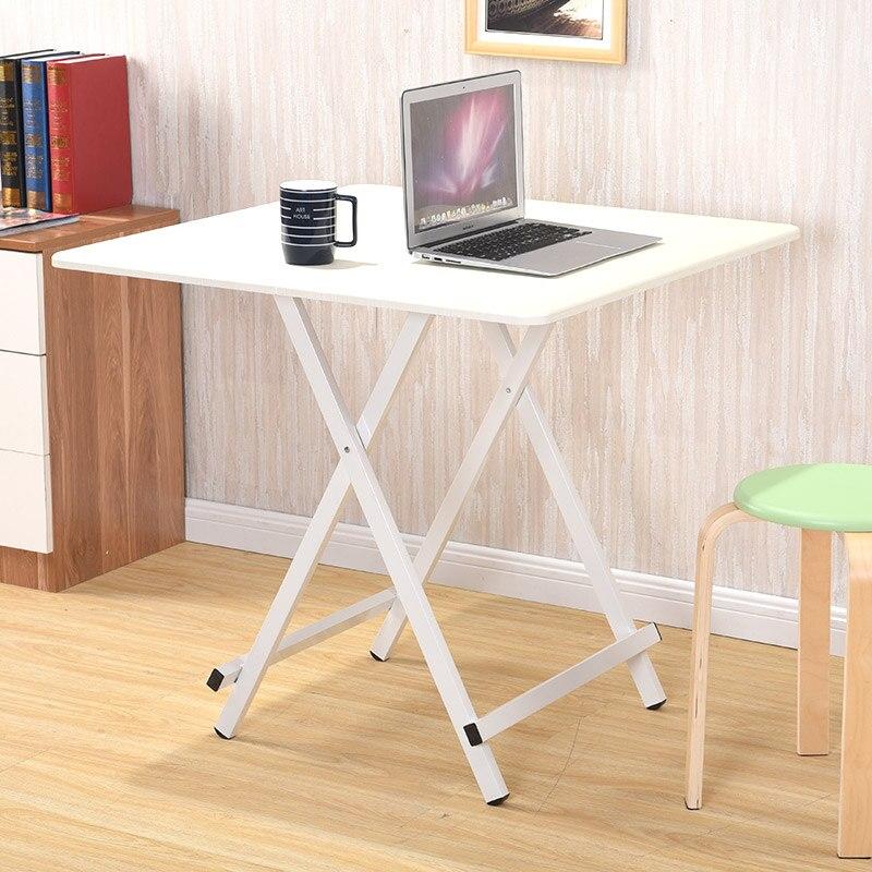 €44.41 20% de DESCUENTO Nueva mesa plegable mesa de comedor hogar Simple  pequeña mesa cuadrada cena portátil dormitorio estudiantil Escritorio de ...