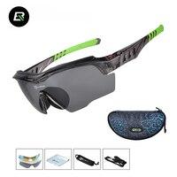 Rockbros Polarized Sports Sunglasses Cycling Glasses MTB Road Bike Bicycle Sun Glasses Protection Goggles Eyewear Gafas