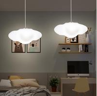 Nordic простой creative cloud люстра детский сад детская комната лампа Облака ресторан магазин одежды украшения светодио дный лампа
