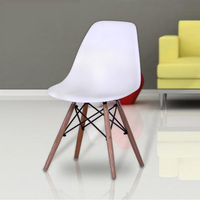 Modern Furniture The Modern Popular Plastic Chair Leisure Dining Chair