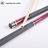 High Quality Pool Billiard Cue Tips Protection Genuine Leather Snooker Cues Stick Protective Casing Pool Table