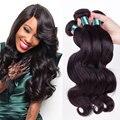 8A Brazilian Virgin Hair Body Wave 3 Bundles/Lot Queen Hair Products Brazilian Body Wave Human Hair Weave
