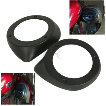 Motorcycle Vented Lower Fairing ABS 6.5 Speaker Pods For Harley Touring Electra Street Glide 1997-2014