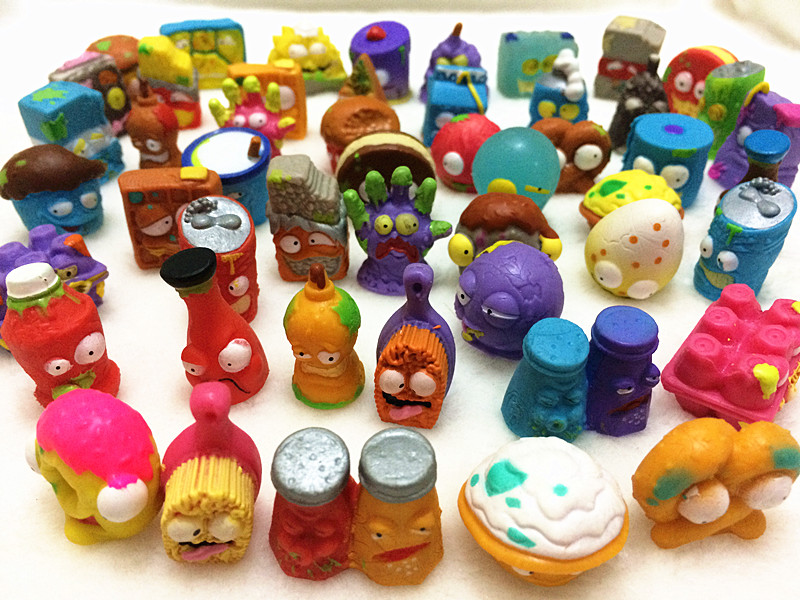 10Pcs/lot O for U Shop Original The Grossery Gang Mini Action Toys Figures Popular Kids Playing Model Dolls Christmas Gift Toy