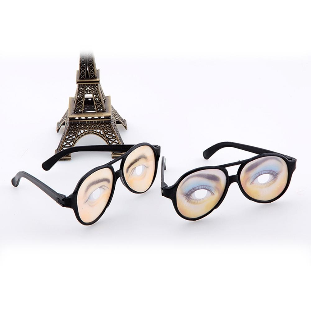 LeadingStar Men Women Funny Glasses Mischief Eyes Frames Christmas Halloween Party Prank Tool Great Holiday Gift zk25