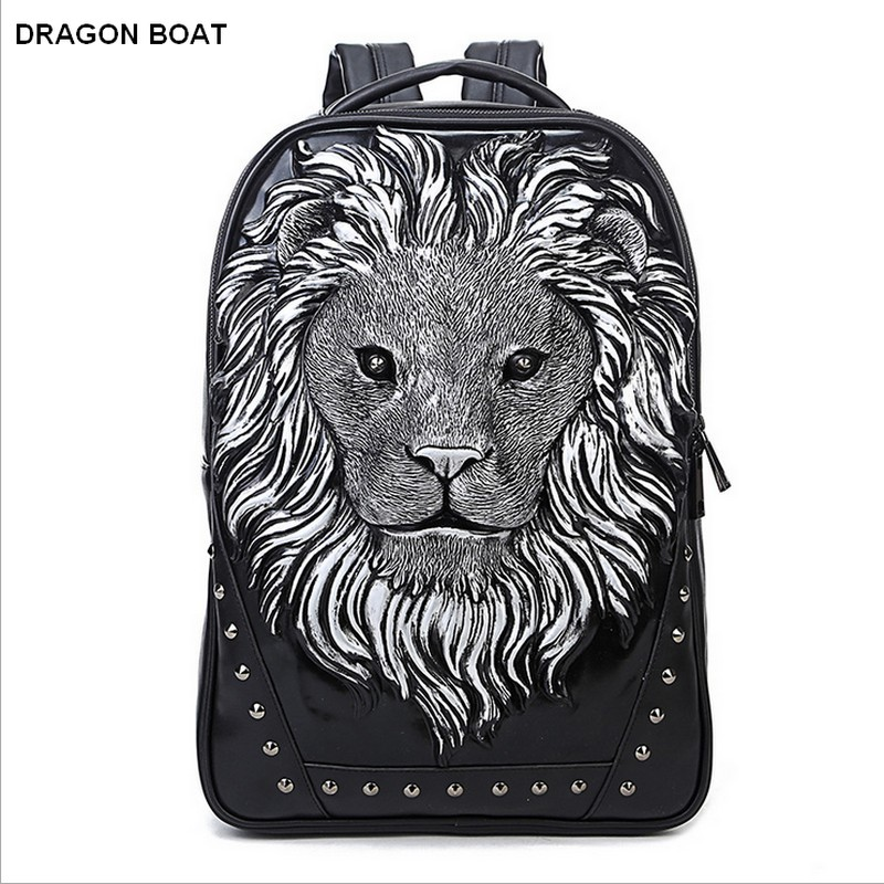 2016 Famous Brand Design men Women Backpacks fashion Travel Animal Leather Backpack School Bag Vintage leather laptop backpack 2016 new sports men and women backpacks fashion men s backpack unsix men shoulder bag brand design ladies school backpack