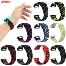 Band for Apple Watch 42mm 38mm Soft Silicone Sport Strap Replacement Bracelet Wristband for Applewatch Series 1 2 3 Smart Watch(China)