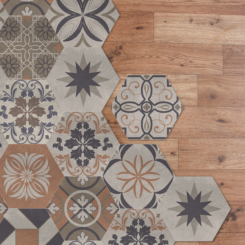 YOUMAN Floor Stickers DIY Anti Slip Waterproof Self adhesive Bathroom Kitchen Tile Room Decals Baby Self Adhesive Wall Paper