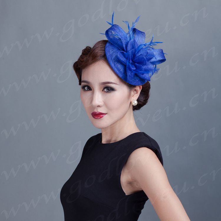 Custom T station serves high-quality linen cap fashion cap bridal headdress hair accessories hairpin