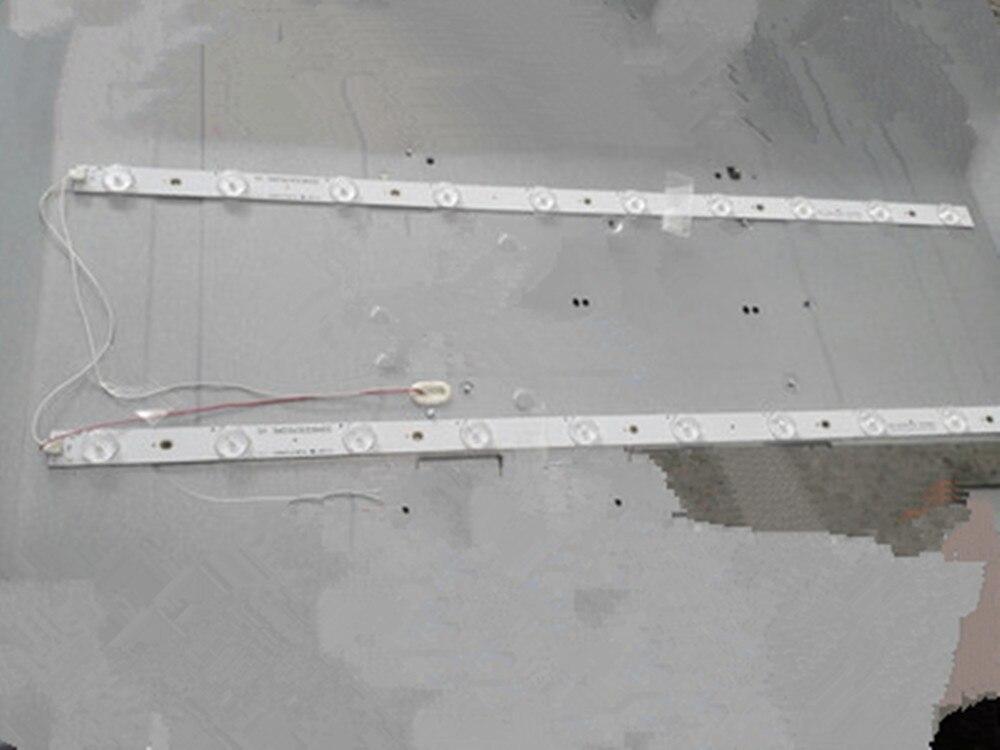 1lot=2pieces Pb08d623173bl042-005h 320B01301401 62CM 10 Lamps