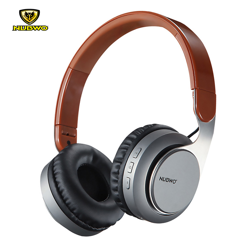 NUBWO S8 Wireless Bluetooth 4.2 Headphones With Mic Outdoor Sport Foldable Noise Cancelling HIFI Stereo Headsets For iPhone джинсы boss orange boss orange bo456emhqu32