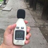 Benetech GM1351 Цифровой измеритель уровня звука децибел Logger Тестер 30-130db Шум в децибелах ЖК-дисплей анализатор тестер высокого качества