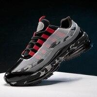 Men's Vulcanize Shoes Comfortable Man Fashion Sneakers Breathable Flat Walking Casual Shoes Platform Zapatillas Hombre X4 15