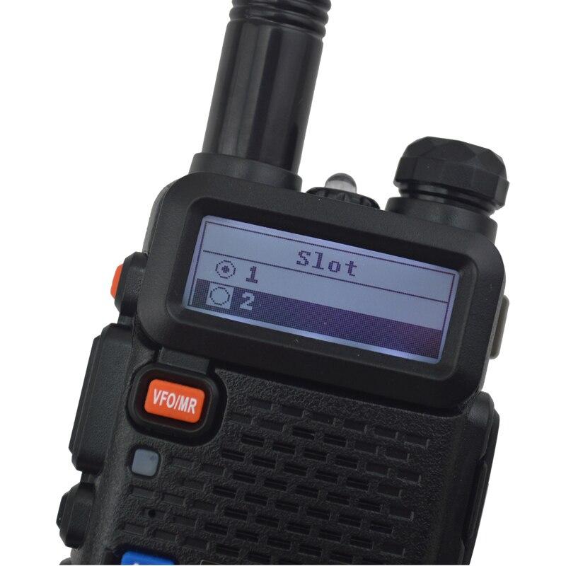 2pcs DM 5R baofeng 2nd Generation DMR Digital Radio VHF/UHF Dual Band DMR Tier I&II FM Walkie Talkie +1pcs USB programming cable - 3