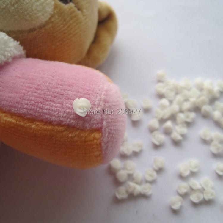 CF5-2 30pcs Cute Ceramic Small White Flower Shape Nail Art Decoration Outlooking я immersive digital art 2018 02 10t19 30
