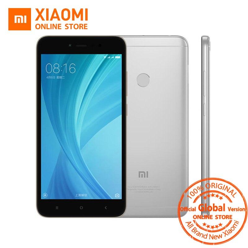 Xiaomi Redmi Note 5A 5 A 3GB RAM 32GB ROM Mobile Phone Snapdragon 435 Quad Core CPU 5.5 Inch 16.0MP Front Camera 3080mAh