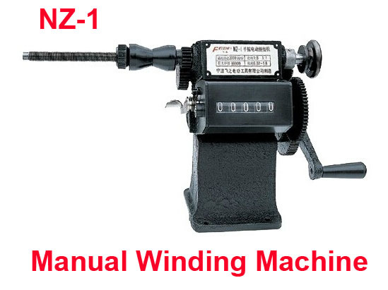 Fast Free shipping SALE NZ-1 Manual Winding Machine Hand dual-purpose Coil counting and winding machine Winder  цены