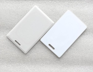 Image 2 - 860 960MHz UHF RFID karty pasywne zapisywalne grube karty tagi 100 sztuk/partia
